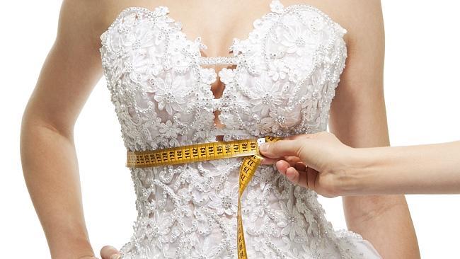 slimming bride photo retouching