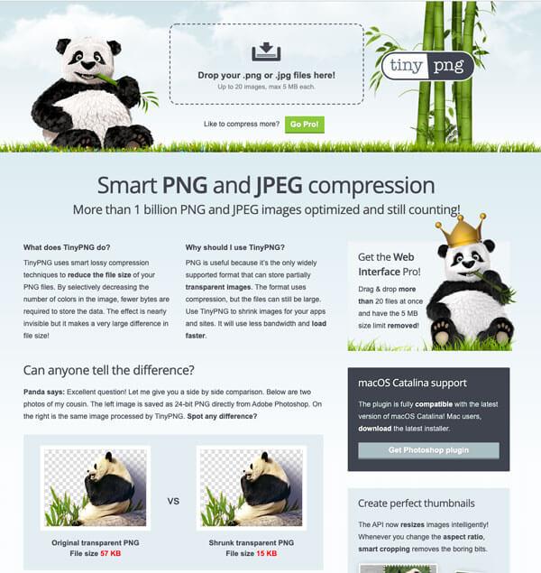 Online image resizing tool